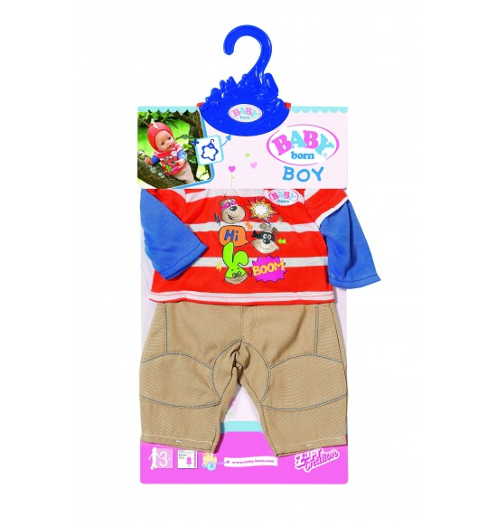 Bb Oblečenie na chlapčeka, 2 druhy
