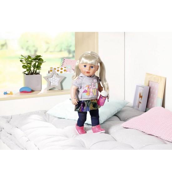 Staršie sestrička BABY born Soft Touch blondínka, 43 cm