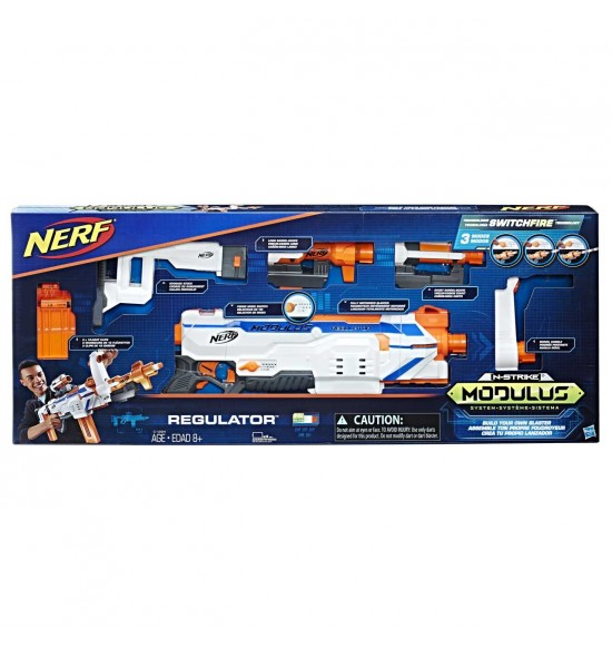 Nerf Modulus Regulator bláster