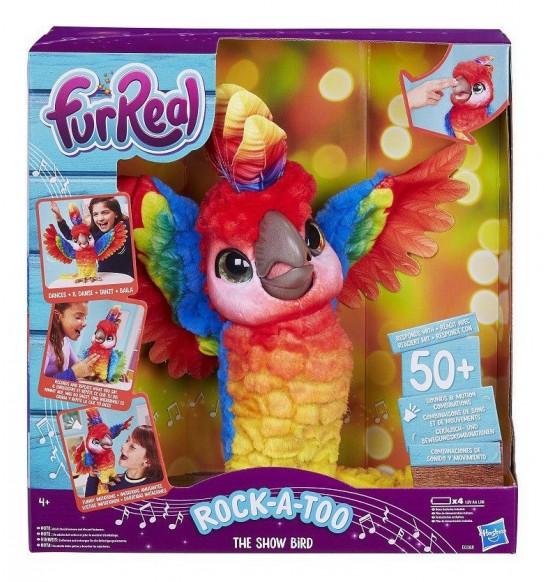 FurReal Friends Hovoriaci Papagáj