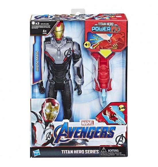 Avengers Titan Hero Power FX Iron Man 30cm figúrka