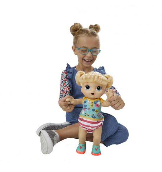 Baby Alive Smejúca sa bábika blond