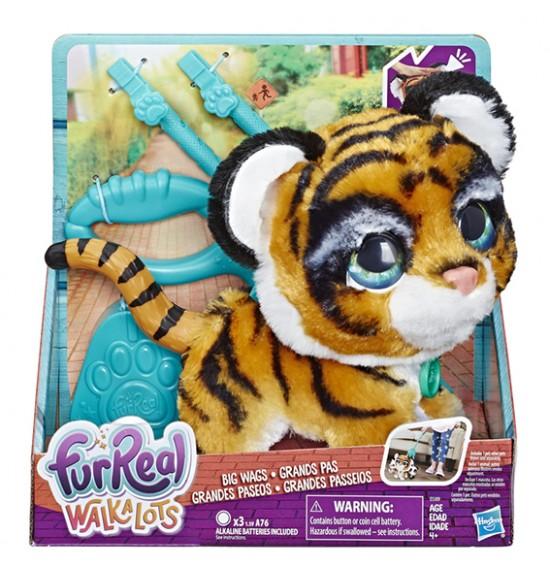 FurReal Friends Walkalots veľký tiger