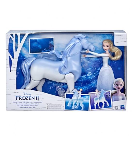Ľadové Kráľovstvo Elsa a plávajúci kamarát