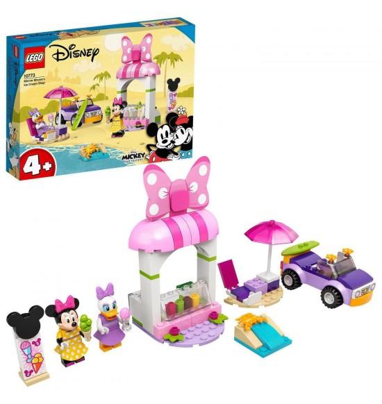 LEGO 10773 Myška Minnie a zmrzlináreň