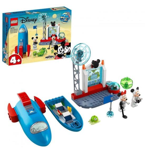 LEGO 10774 Raketoplán Myšiaka Mickeyho a Myšky Minnie