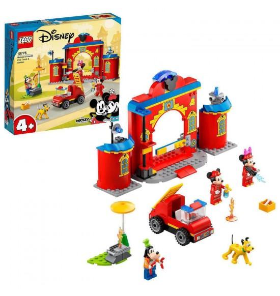LEGO 10776 Hasičská stanica a auto Mickeyho a jeho priateľov
