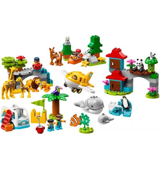 LEGO DUPLO 10907 Zvieratká sveta