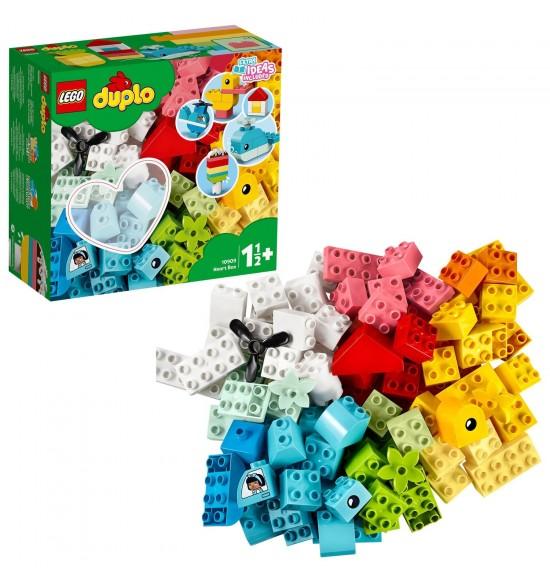 LEGO 10909 Box so srdiečkom