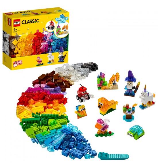 LEGO 11013 Priesvitné kreatívne kocky