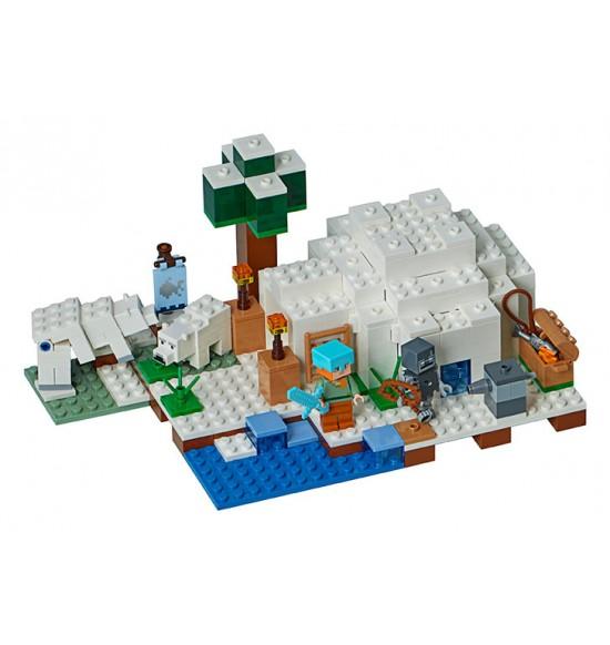 LEGO Minecraft 21142 Iglu za polárnym kruhom