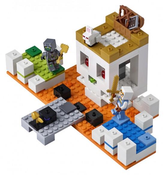 LEGO Minecraft 21145 Aréna lebiek