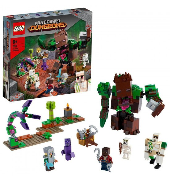LEGO 21176 Príšera z džungle