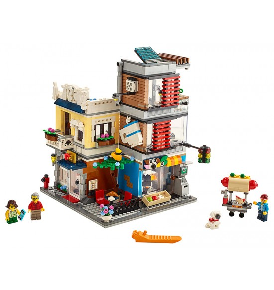LEGO Creator 31097 Zverimex s kaviarňou
