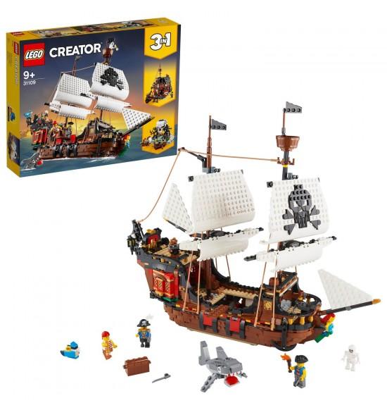LEGO 31109 Pirátska loď