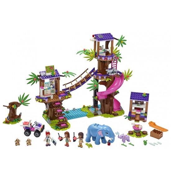 LEGO 41424 Základňa záchranárov v džungli