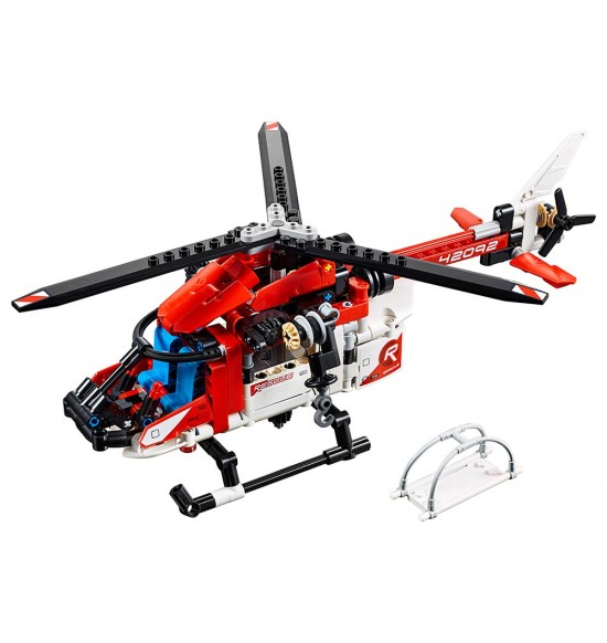 LEGO Technic 42092 Záchranárska helikoptéra