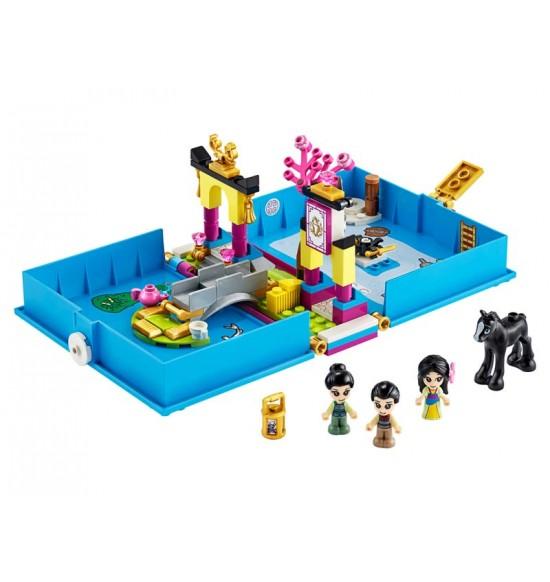 LEGO 43174 Mulan a jej rozprávková kniha dobrodružstiev