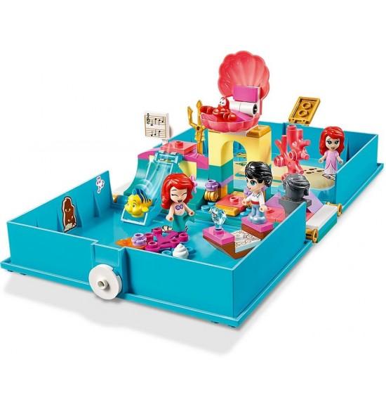 LEGO 43176 Ariel a jej rozprávková kniha dobrodružstiev