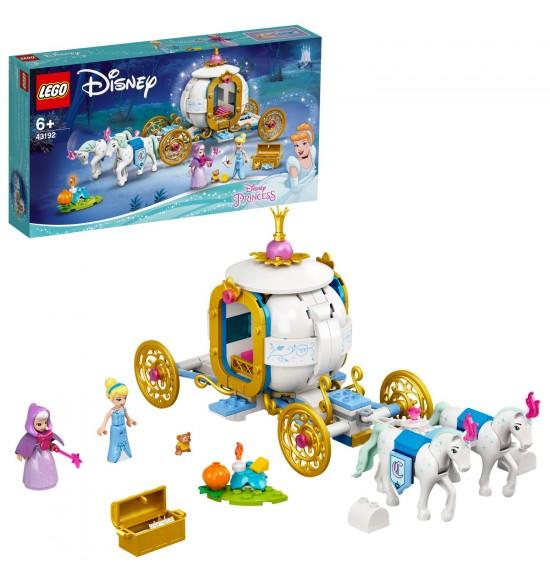 LEGO 43192 Popoluška a kráľovský kočiar
