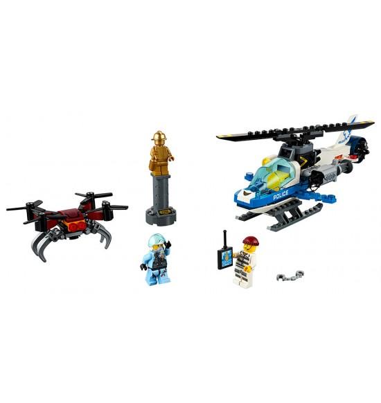 LEGO City 60207 Naháňačka leteckej polície sdronom