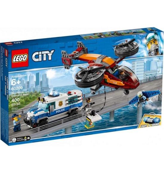 LEGO City 60209 Letecká polícia akrádež diamantu