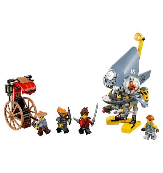 LEGO Ninjago 70629 Útok pirane