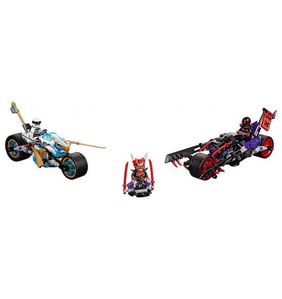 LEGO Ninjago 70639 Pouličné preteky Hadieho jaguára