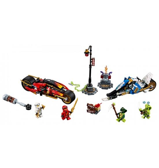 LEGO Ninjago 70667 Kaiova ozbrojená motorka aZanov snežný skúter