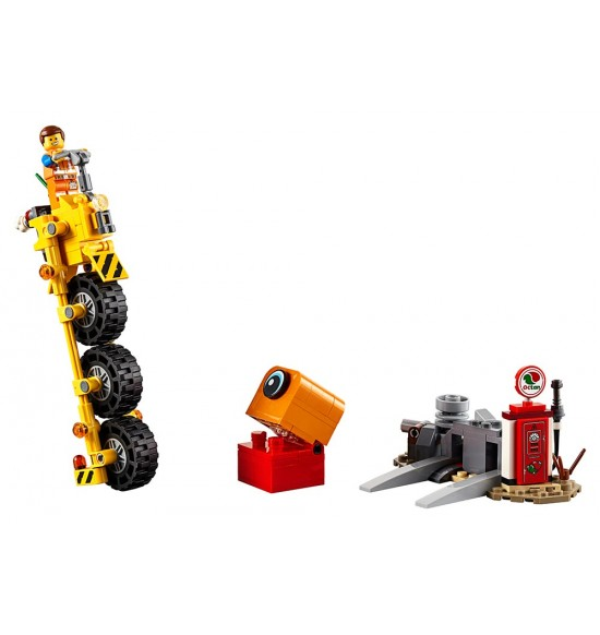 LEGO Movie 70823 Emmetova trojkolka!