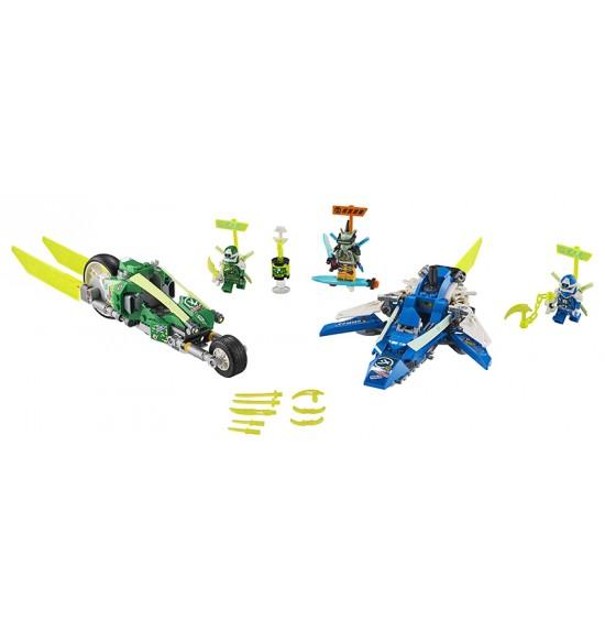 LEGO 71709 Rýchla jazda s Jayom a Lloydom