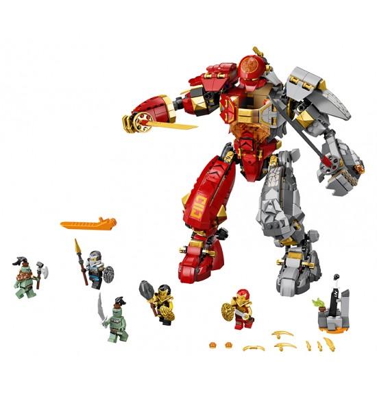 LEGO 71720 Robot ohňa a kameňa