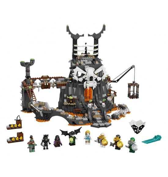 LEGO 71722 Jaskyňa Čarodejníka lebiek