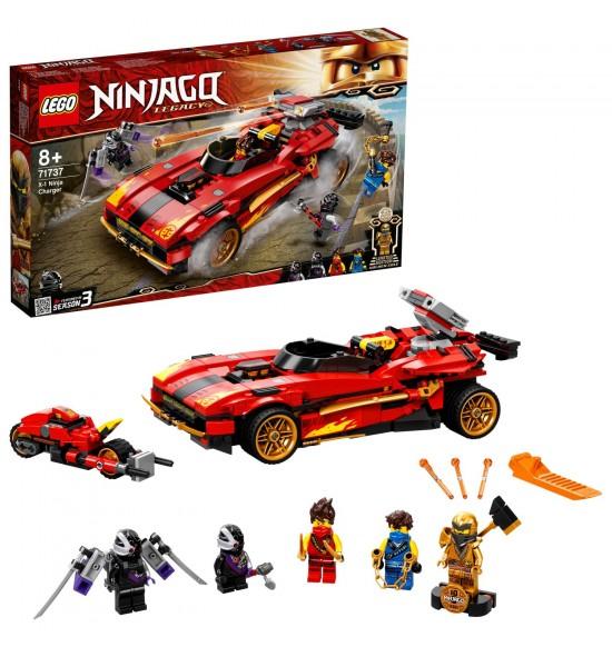LEGO 71737 Kaiovo červené superauto