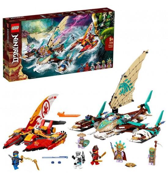 LEGO 71748 Námorná bitka s katamaránom