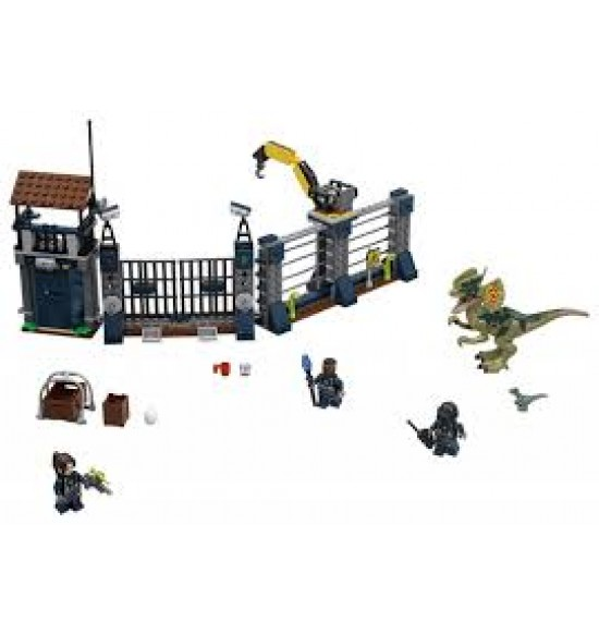 LEGO  75931 Útok Dilophosaura na strážne stanovište