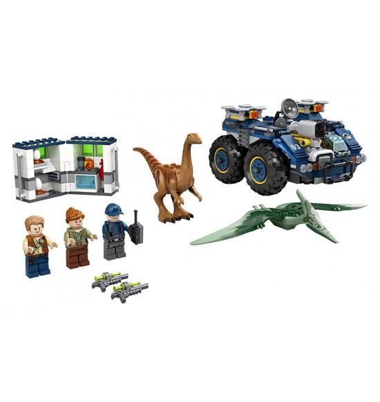 LEGO 75940 Únik gallimima a pteranodona