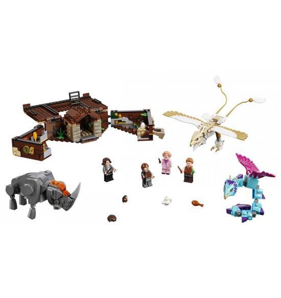 LEGO  75952 Mlokov kufrík s čarovnými bytosťami