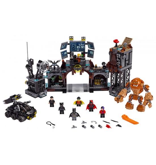 LEGO Super Heroes 76122 Clayface™ útočí na Batmanovu jaskyňu