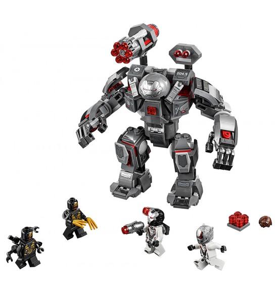 LEGO Super Heroes 76124 War Machine v robotickom obleku