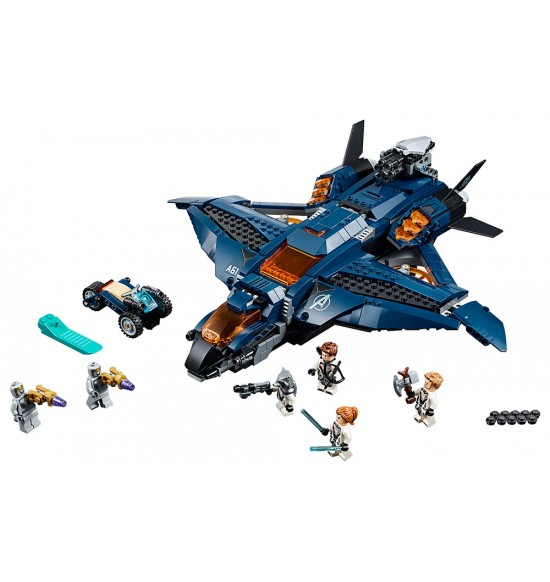 LEGO 76126 Úžasný tryskáč Avengerov
