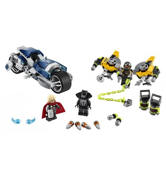 LEGO 76142 Avengers: Zbesilý útok na motorke