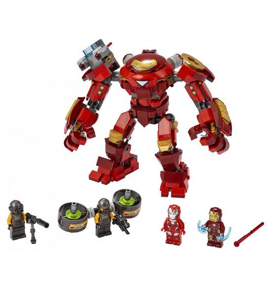 LEGO 76164 Iron Man Hulkbuster proti agentovi A.I.M.