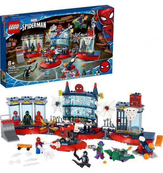 LEGO 76175 Útok na pavúčí brloh