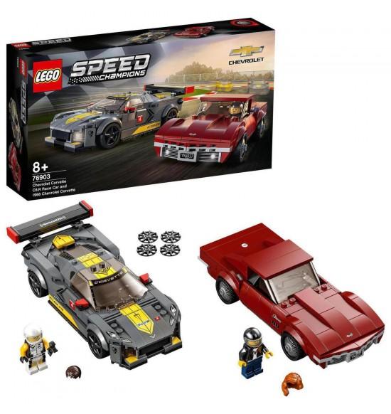 LEGO 76903 Chevrolet Corvette C8.R a 1968 Chevrolet Corvette