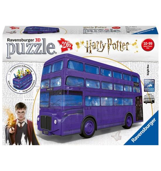 Harry Potter Rytiersky autobus 216 dielikov
