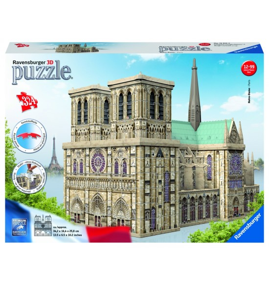 Notre Dame 3D 216 dielikov