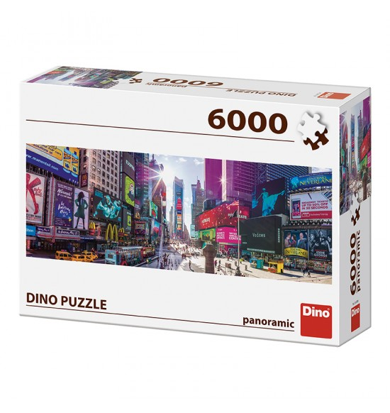 TIMES SQUARE, NEW YORK CITY 6000 PUZZLE NOVÉ