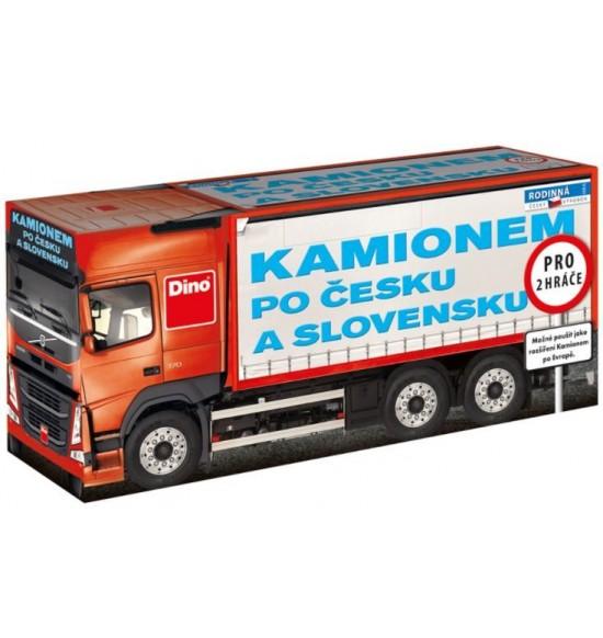 Kamiónom po Česku a Slovenskom