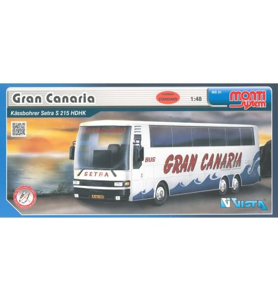 Stavebnice Monti 31 Gran Canaria-Bus Setra